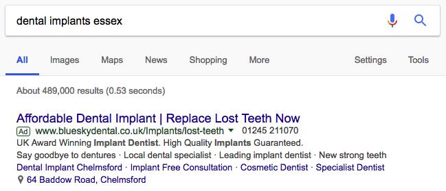 dental-ppc-essex