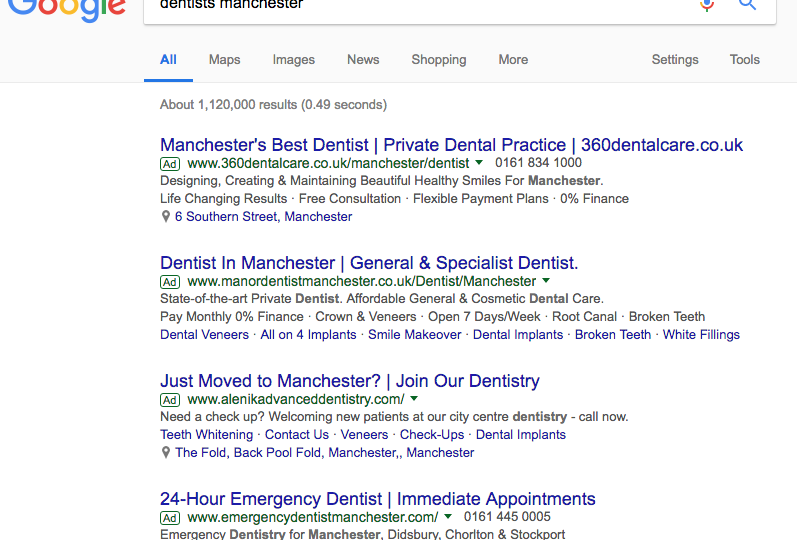 PPC for Dentists