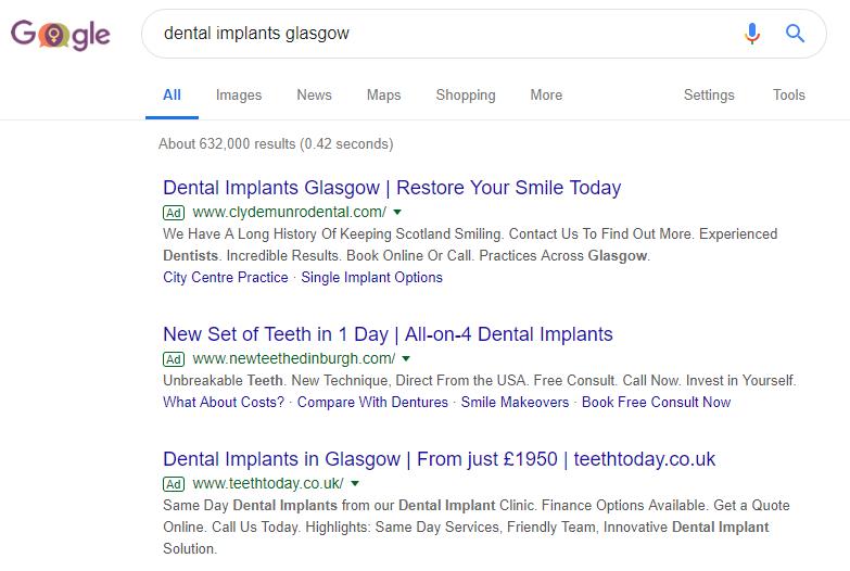 Dental Implants PPC